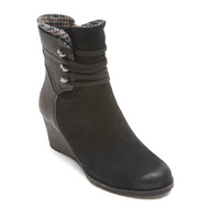 Rockport Lucinda Lace Boot - Black