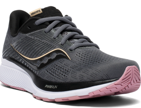Saucony Guide 14 - Charcoal/Rose