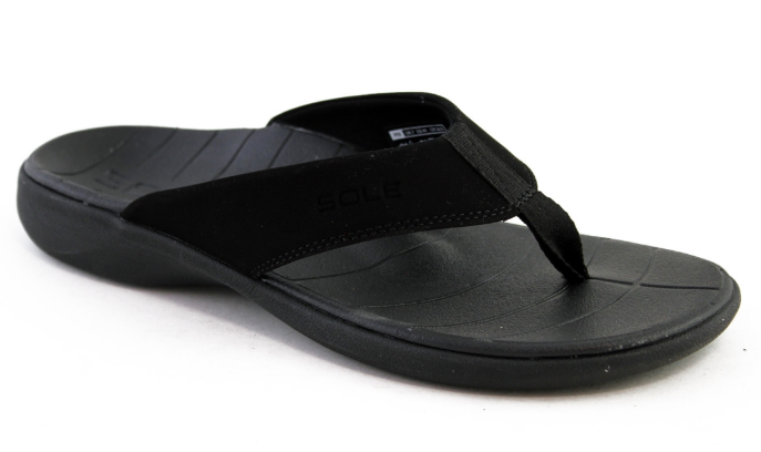 Sole Catalina Flip - Black