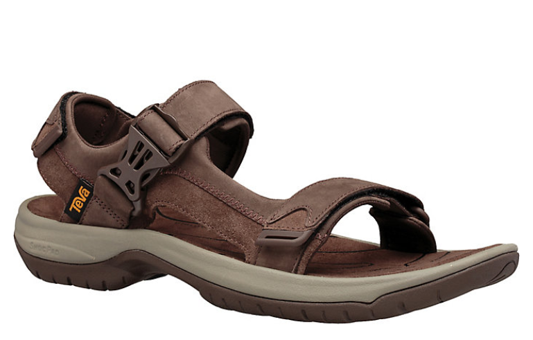 Teva Tanway Leather - Chocolate