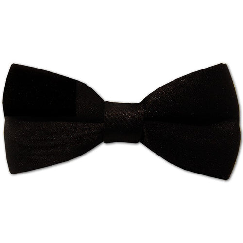 Black Silk Bow Tie