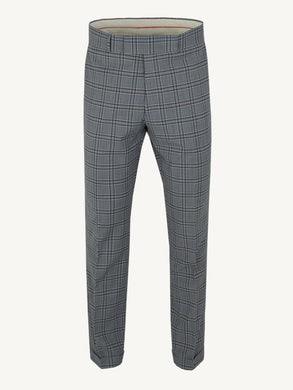 Gibson London Grey Check Trousers