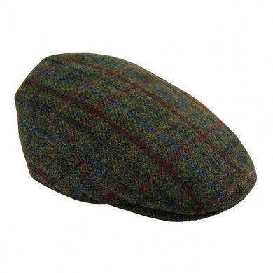 Harris Tweed Flat Cap Traditional