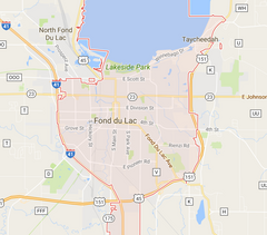 Fond Du Lac Zip Code Map.Where Do We Deliver Poco Pizza
