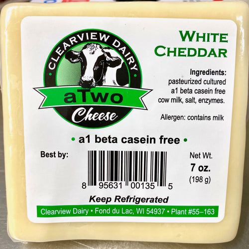 A2 White Cheddar - Clearview Dairy