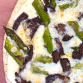 Steak & Asparagus Pizza