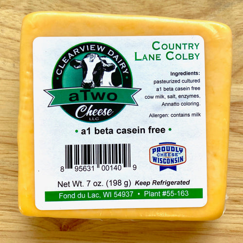 A2 Colby Cheese - Clearview Dairy