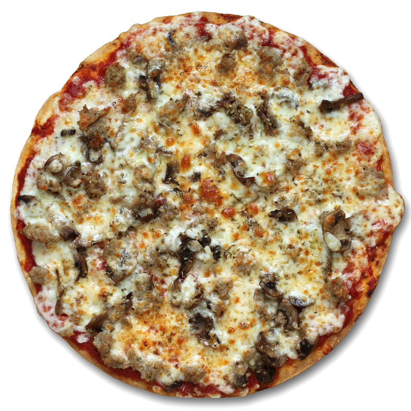 Sausage and Mushroom Pizza - Poco Pizza - Frozen Pizza