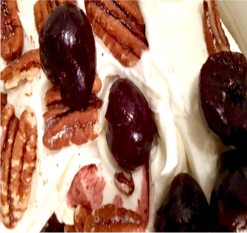 Ice Cream - Bourbon Cherry Pecan