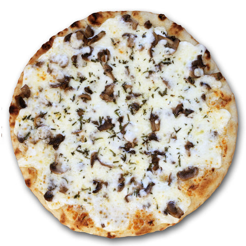 White Button Mushroom Pizza - Poco Pizza - Frozen Pizza
