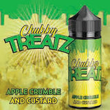 Apple Crumble & Custard - Chubby Treatz 100ml.