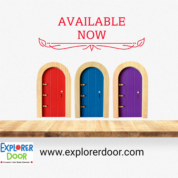 New Fairy Doors Now Available!!