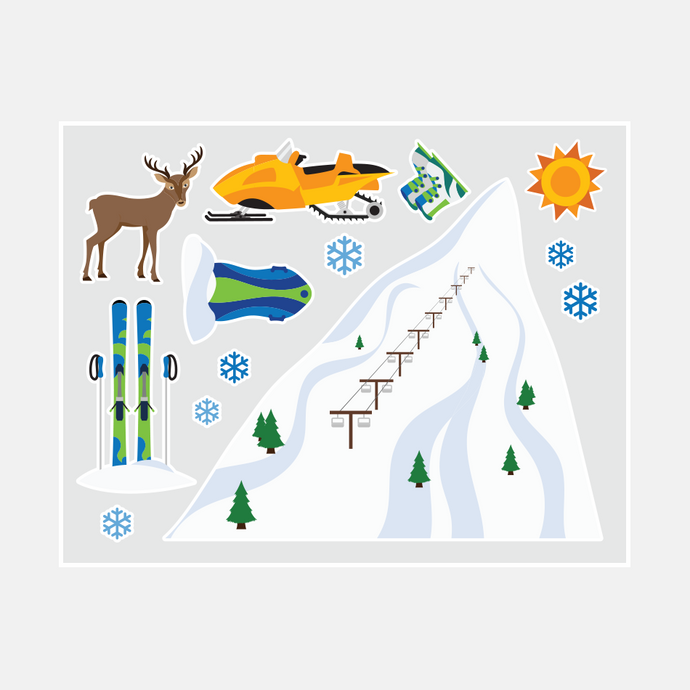 Winter Wall Decals (Boys)