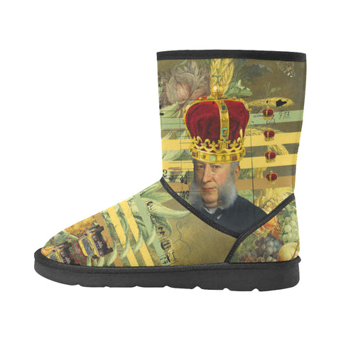 THE FOUR CROWNS Unisex All Over Print Snow Boots