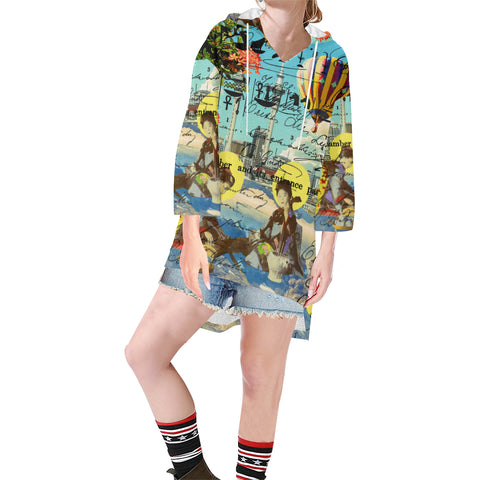 THE CONCERT II Unisex Step Hem Tunic Hoodie