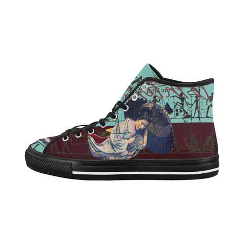 RAIN Women's All Over Print Canvas Sneakers