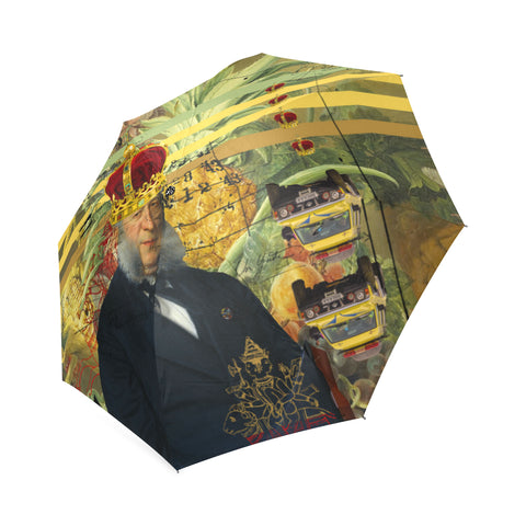 THE FOUR CROWNS Foldable Umbrella