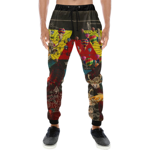 THE HEDGEHOG SOUP UPPER III IV Men's All Over Print Sweatpants