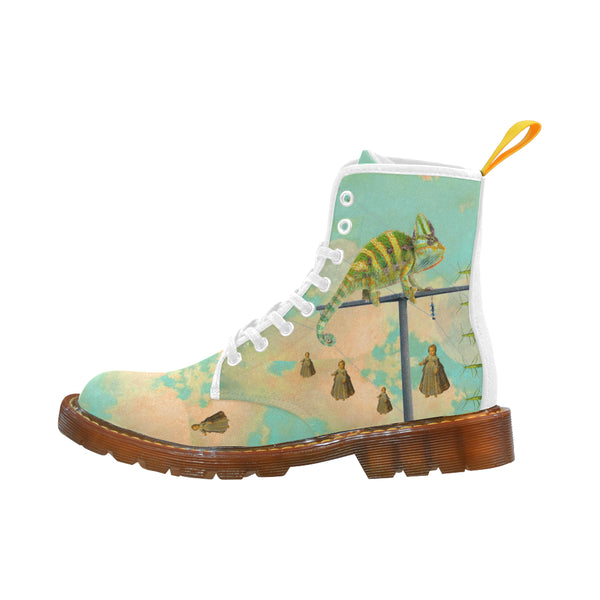 DANDELIONS 2 Men's All Over Print Fabric High Boots