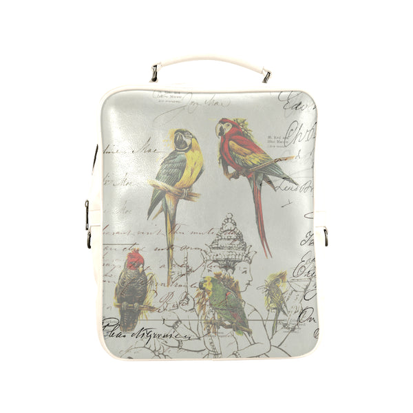 THE PARROT MAP II Square Backpack