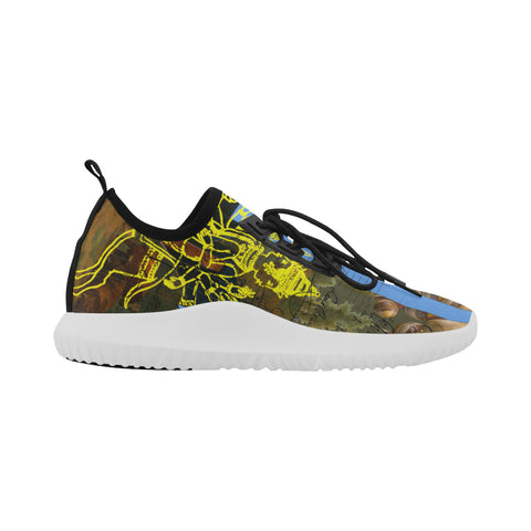 SUNRISE Ultra Light All Over Print Running Shoes for Men