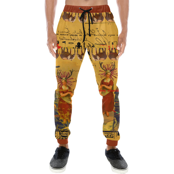 THE OLD PHOTO I Men's All Over Print Sweatpants