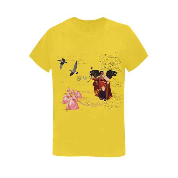 THE KING OF THE FIELD III Women's Printed Cotton Tee Shirt