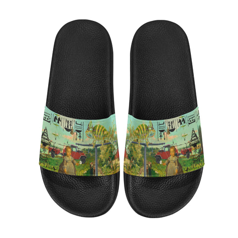 DANDELIONS Women's Printed Slides