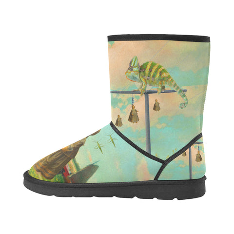 DANDELIONS Unisex All Over Print Snow Boots