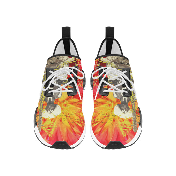 THE SITAR PLAYER Men's All Over Print Running Shoes