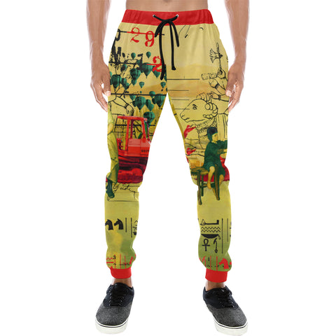 HERE, TAKE IT II Men's All Over Print Sweatpants