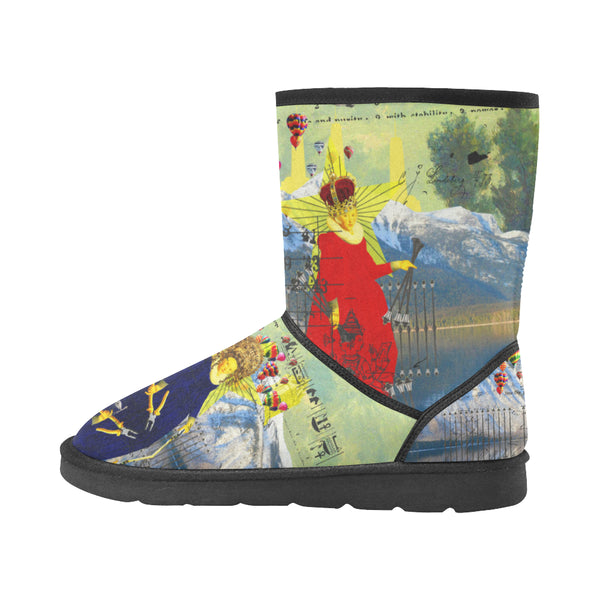 THE LAMPPOST INSTALLATION CREW VIII Unisex All Over Print Snow Boots