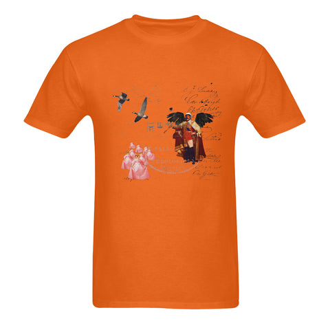 THE KING OF THE FIELD III Sunny Men's Printed Cotton Tee Shirt