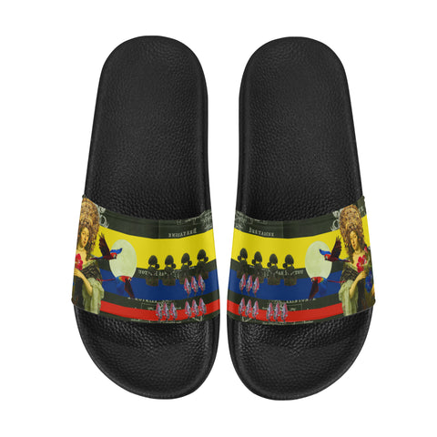 THE FLOWERS OF THE QUEEN Women's Printed Slides