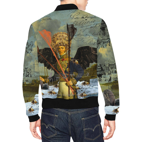 THE YOUNG KING ALT. 2 II All Over Print Bomber Jacket for Men