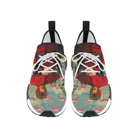 I FOUND THEM IN THERE III Men's All Over Print Running Shoes