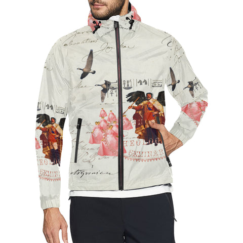THE KING OF THE FIELD III All Over Print Windbreaker for Men