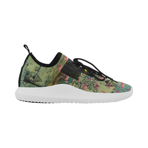 I FOUND THEM IN THERE III  Ultra Light All Over Print Running Shoes for Women