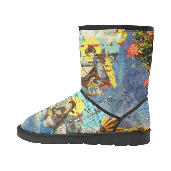 THE CONCERT II Unisex All Over Print Snow Boots