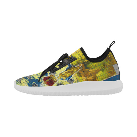 THE AIRSHOW  Ultra Light All Over Print Running Shoes for Women