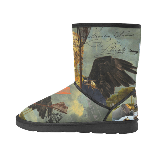 THE YOUNG KING ALT. 2 II Unisex All Over Print Snow Boots