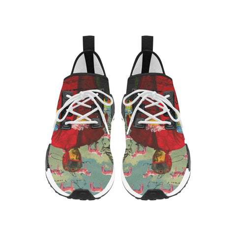I FOUND THEM IN THERE III Women's All Over Print Running Shoes