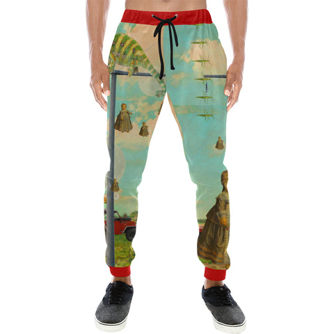DANDELIONS Men's All Over Print Sweatpants