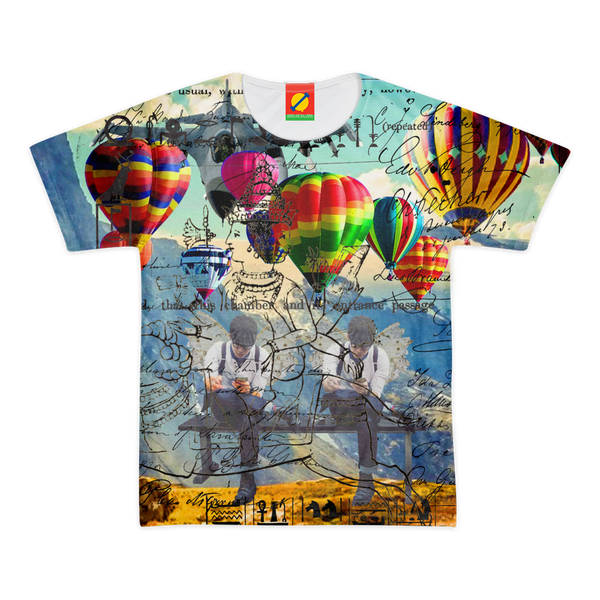 THE TWINS III Men's All Over Print Tee