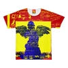 THREE COLORS V: WITH GRAFFITI  YELLOW AND COWS Men's All Over Print Tee