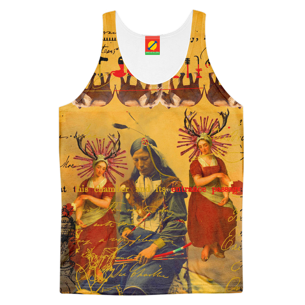 THE OLD PHOTO I Men's All Over Print Tank Top