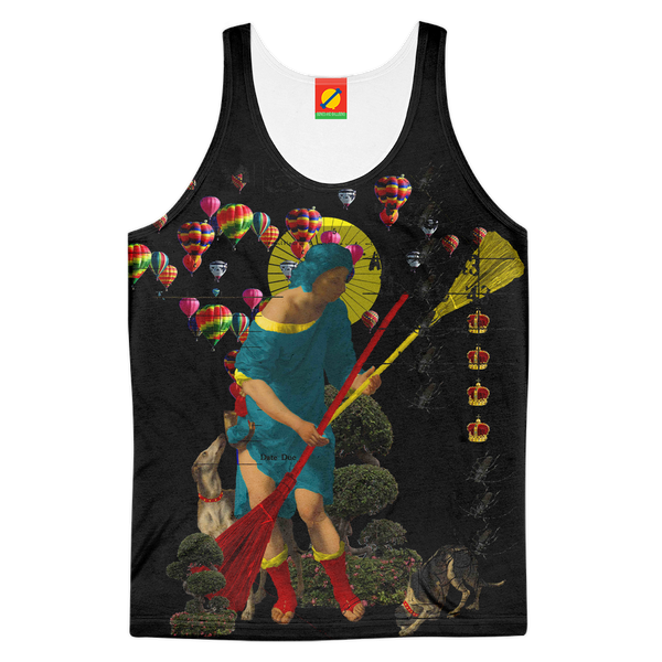 PASSING OUT THE BROOMS IV Women's All Over Print Tank Top