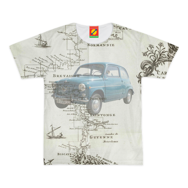 ROAD TRIP Women's All Over Print Tee