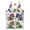 THE ANIMAL MIX BOAT OUTING I Women's All Over Print Tank Top