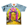 THE BORING HEADDRESS III II II ALT. FACE Women's All Over Print Tee